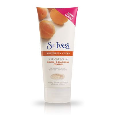 St ives abricot exfoliant pour le visage