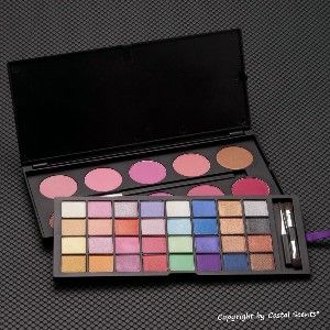 Coastal Scents 42 Color Double Stack Shimmer Shadow & Blush