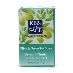 Kiss My Face Olive and Green Tea Soap
