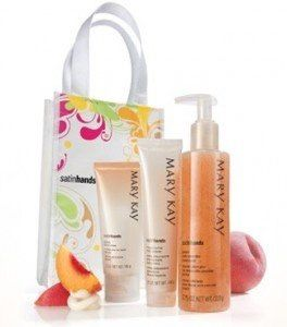 Mary Kay Peach Satin Hands Hand Cream