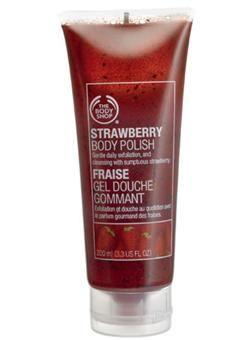 The Body Shop Strawberry Body Scrub