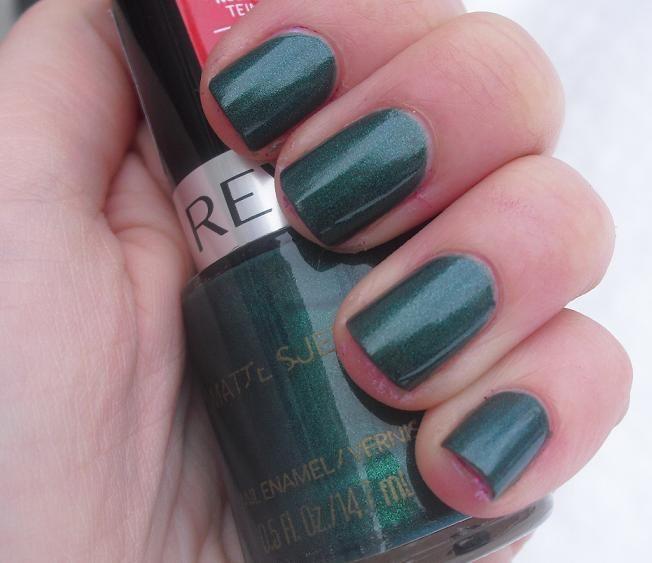 Revlon Matte Suede - Emerald City