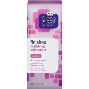 Clean & Clear Finishes Mattifying Moisturizer spf 15 [DISCONTINUED]