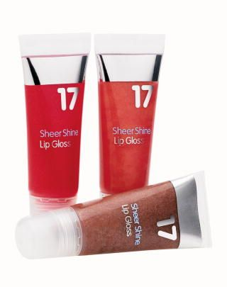 Boots  17 Sheer Shine Lipgloss in Strawberry Sundae