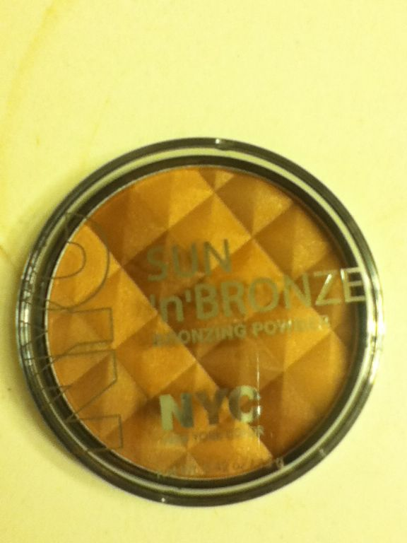 New York Color SUN 'n' BRONZE Bronzing powder in Fire Island Tan