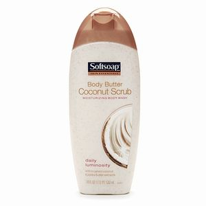 Softsoap Moisturizing Body Wash Coconut Scrub