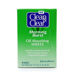 Clean & Clear Morning Burst Oil-Absorbing Sheets
