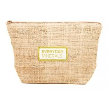 Everyday Minerals Hemp Makeup Bag