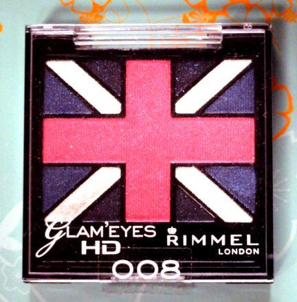 Rimmel Glam' Eyes HD Eye Palette