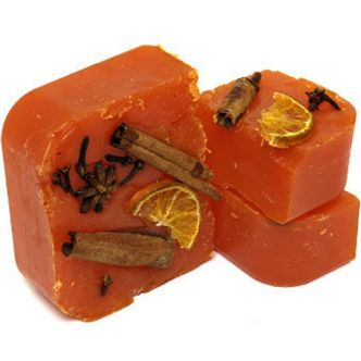 LUSH Red Rooster soap