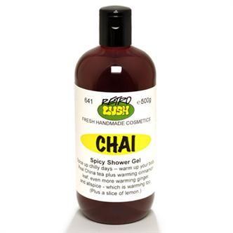 LUSH Chai shower gel