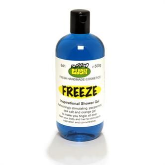 LUSH Freeze Showergel