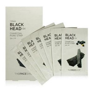TheFACEShop Blackhead EX Charcoal Pore Strip