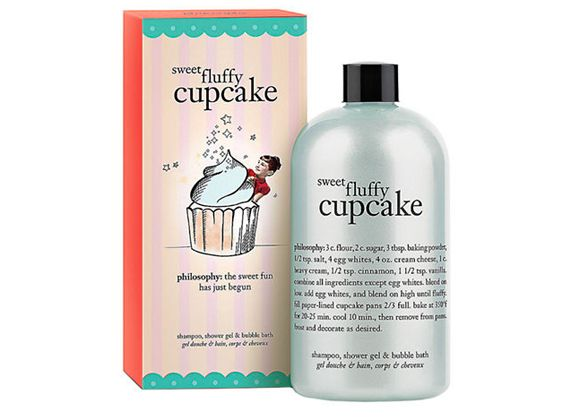 Philosophy Sweet Fluffy Cupcake 3-in-1 Shampoo, Shower Gel, & Bubble Bath