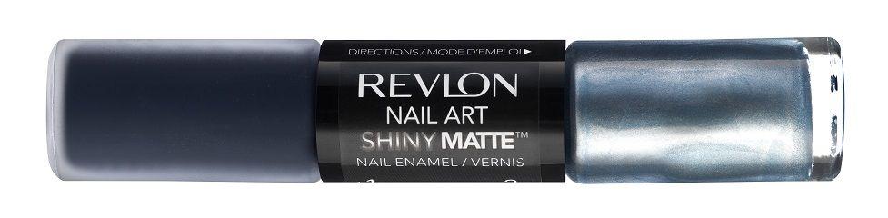 Revlon Nail Art Shiny Matte in Pinstripe