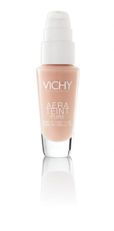 Vichy Aera Teint Pure Fluid Foundation Finish Up to 12 Hour Wear