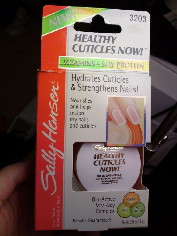 Sally Hansen Healthy Cuticles Now!