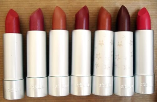 Stila all lipsticks