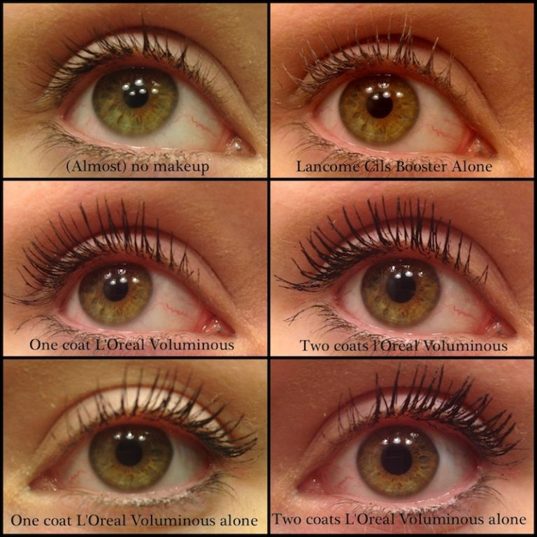 Lancome Cils Booster X... Tan Skin Eye Makeup