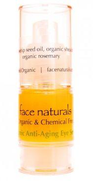Face Naturals- Organic Anti-Aging Eye Serum