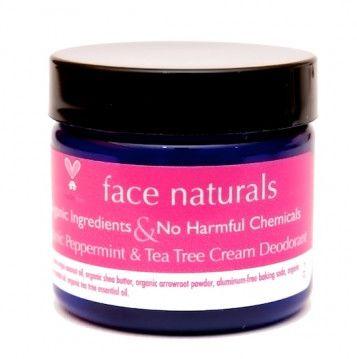 Face Naturals- Organic Cream Deodorants