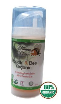 Bubble and Bee- Cool Cucumber Facial Cleanser
