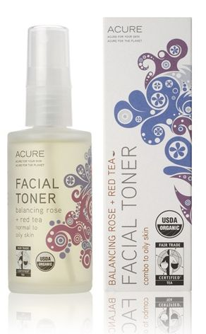 Acure Organics  Facial Toner Rose + Red Tea