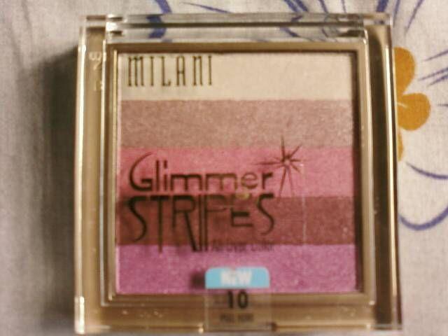 Milani Glimmer Stripes in Berry Glimmer