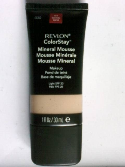 Revlon ColorStay Mineral Mousse Makeup [DISCONTINUED]