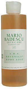 Mario Badescu AHA Botanical Body Soap