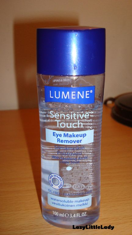 Lumene Sensitive Touch Eye Makeup Remover