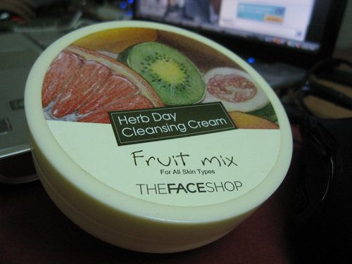 TheFACEShop Herb Day Cleansing Cream - Fruit Mix