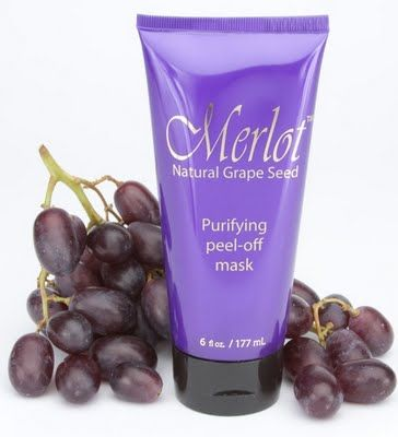 Merlot Natural Grapeseed Purifying Peel-Off Mask