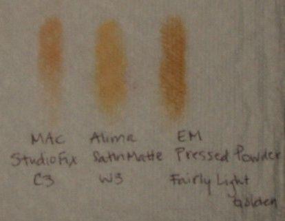 Everyday Minerals Pressed Powder in Fairly Light Golden