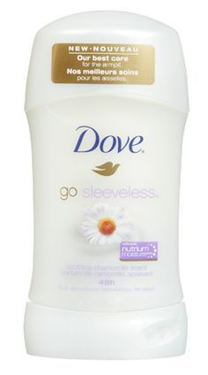 Dove go sleeveless soothing chamomile