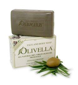 Olivella - All Natural Virgin Olive Oil soap - Fragrance Free