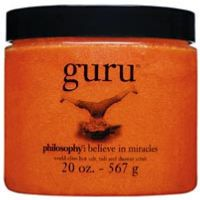 Philosophy guru (world-class hot salt, tub and shower scrub)
