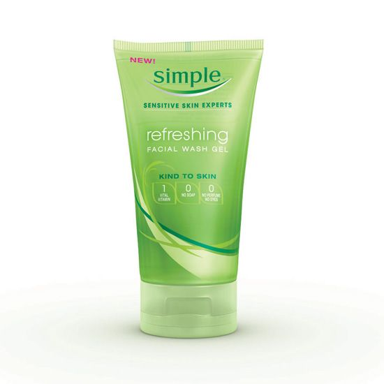 Simple Kind to Skin Refreshing Wash Gel [DISCONTINUED]