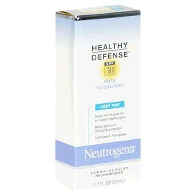 Neutrogena Healthy Defense Daily Moisturizer Light Tint SPF 30