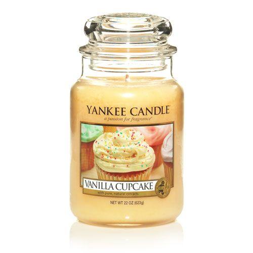 Yankee Candles Vanilla Cupcake