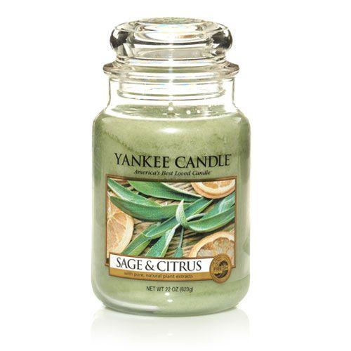Yankee Candles Sage & Citrus