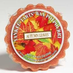 Yankee Candles Tart in Autumn Leaves