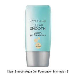 Maybelline Clear Smooth Gel Foundation