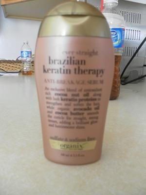 Organix Brazilian Keratin Therapy Anti-Breakage Serum