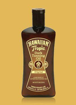 Hawaiian Tropic Dark Tanning Oil Reviews Photos