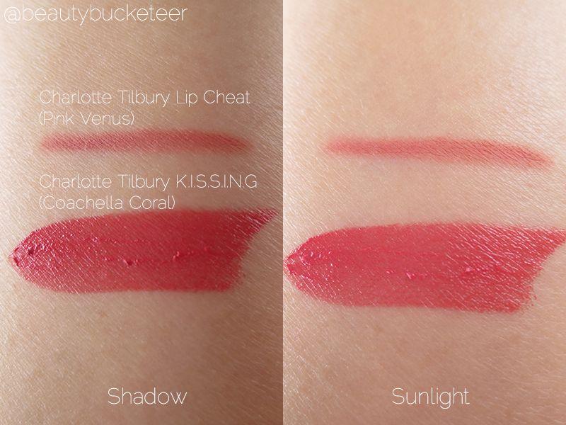 Charlotte Tilbury Kissing Lipstick Reviews Photos
