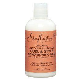 Shea Moisture Organic Coconut & Hibiscus Curl & Style Milk