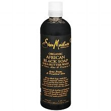 Shea Moisture Organic African Black Soap Shea Butter Wash