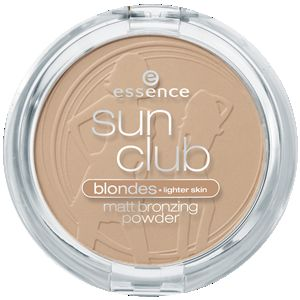 Essence Essence Sun Club Matt Bronzing Powder