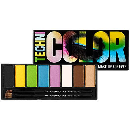 Make Up For Ever Technicolor Palette